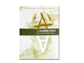 Disseny coberta llibre de poesies 'Asimetria'