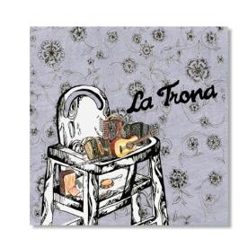Portada CD grup folk La Trona