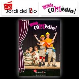 Logotips i cartell https://trasgrafica.com/2016/06/02/cartell-per-a-espectacle-infantil-menuda-comedia/