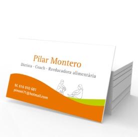 Targeta Pilar Montero